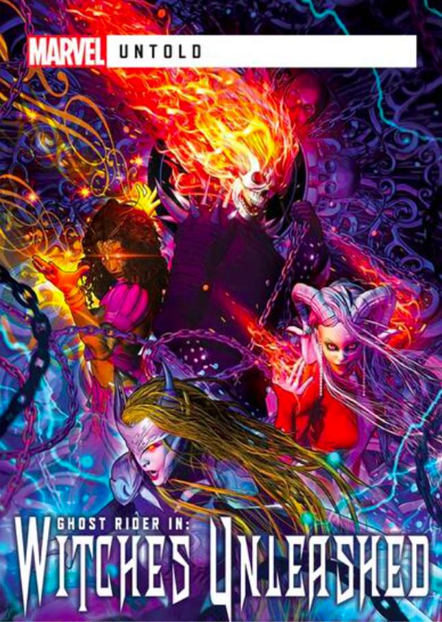 marvel witches unleashed third novel