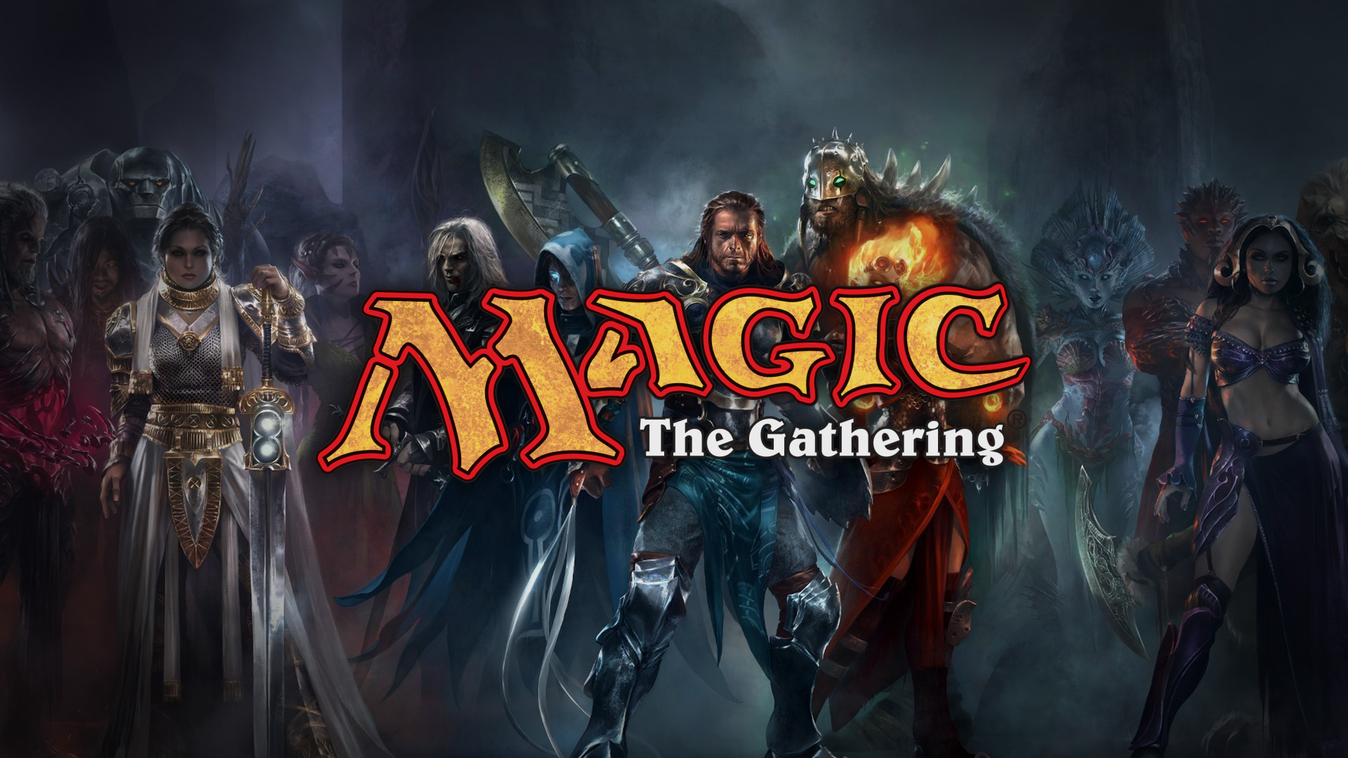 The new 'story' of The Gathering is a series of D&D adventures!