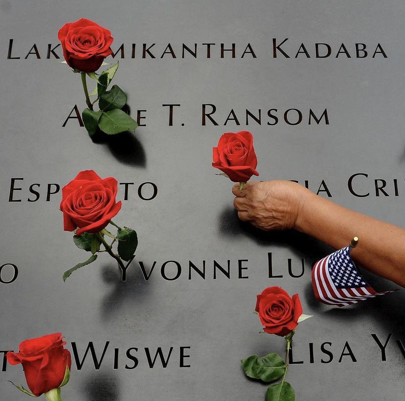 Memorial of 9/11 attack victims
