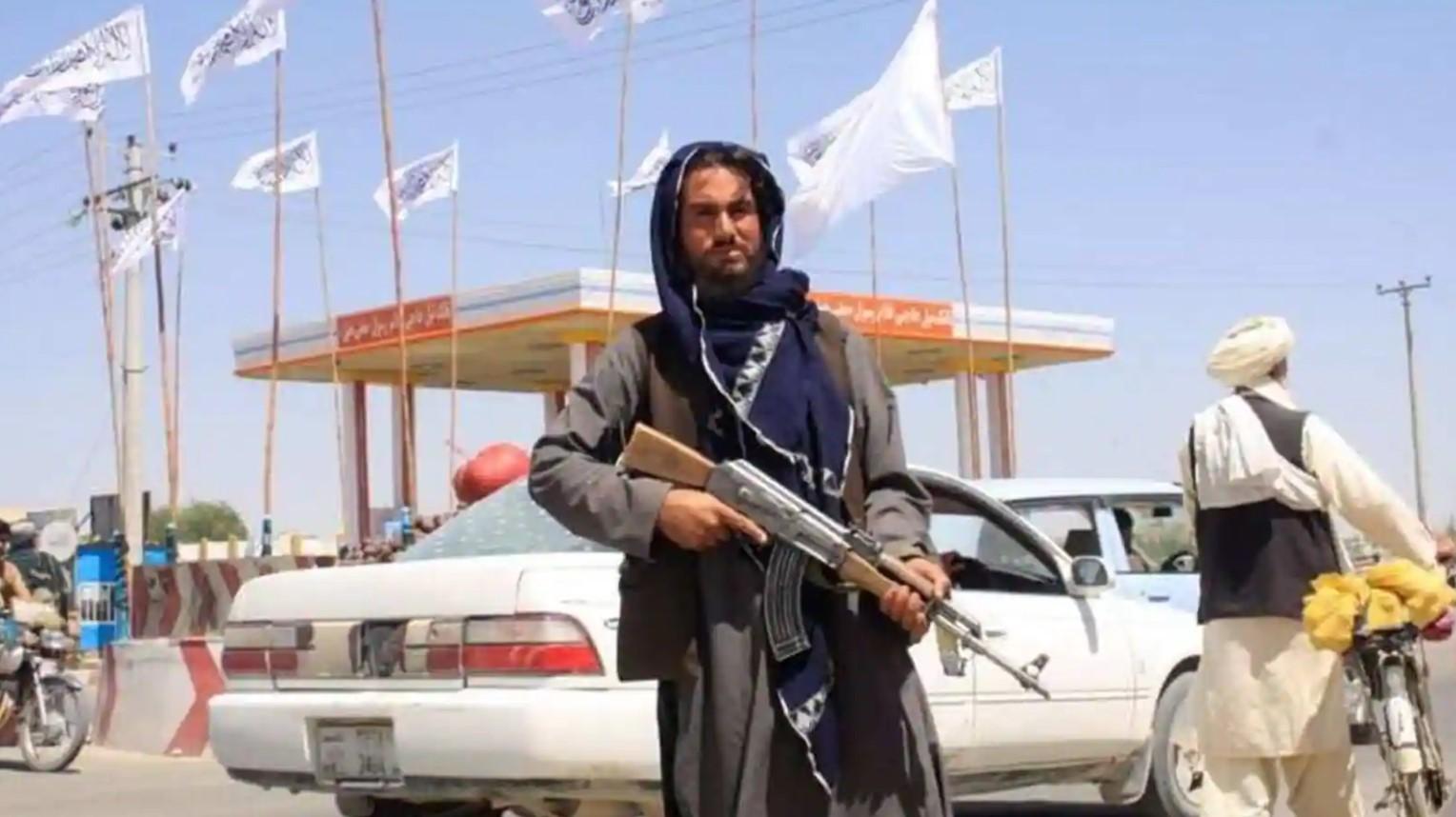 Afghanistan man fleeing