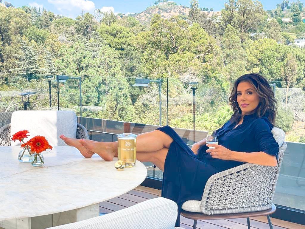 Eva Longoria Discusses her Directorial, 'Flamin' Hot Cheetos' and New Tequila Company