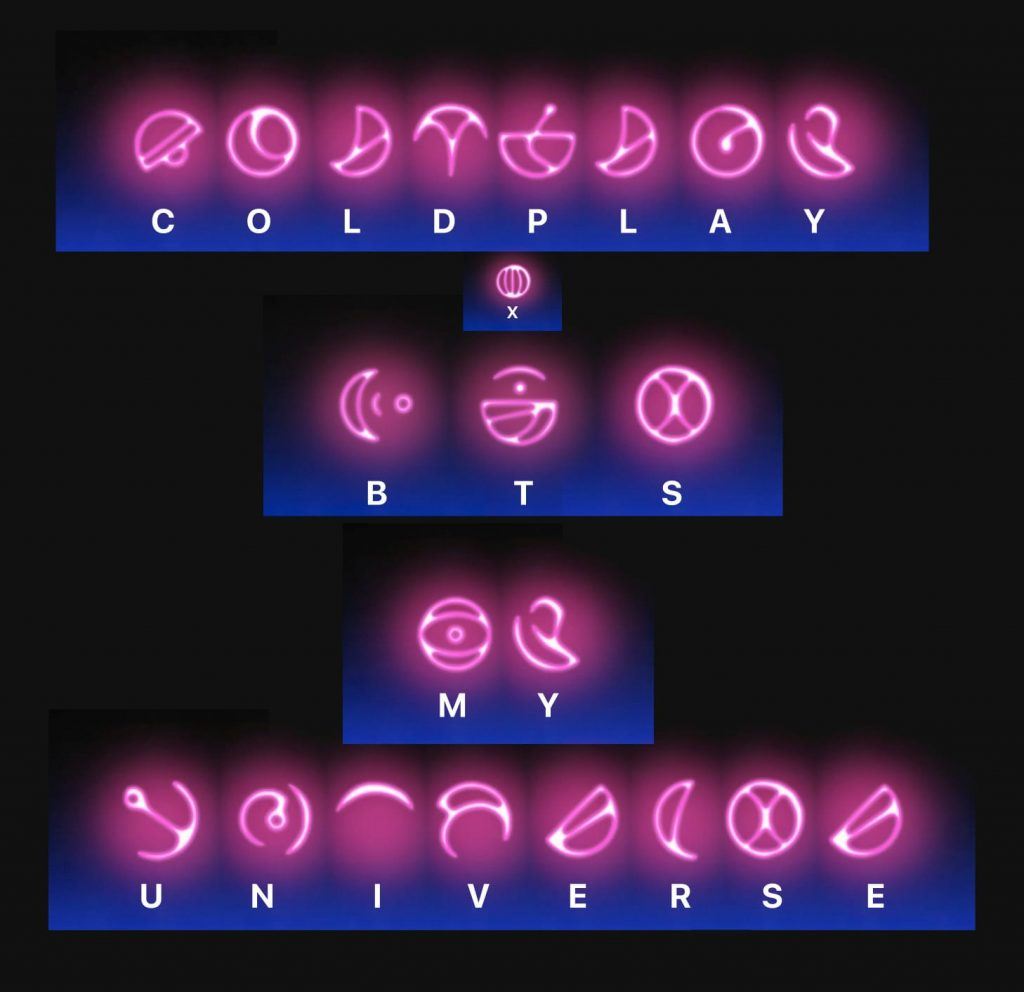 BTS and Coldplay collaboration