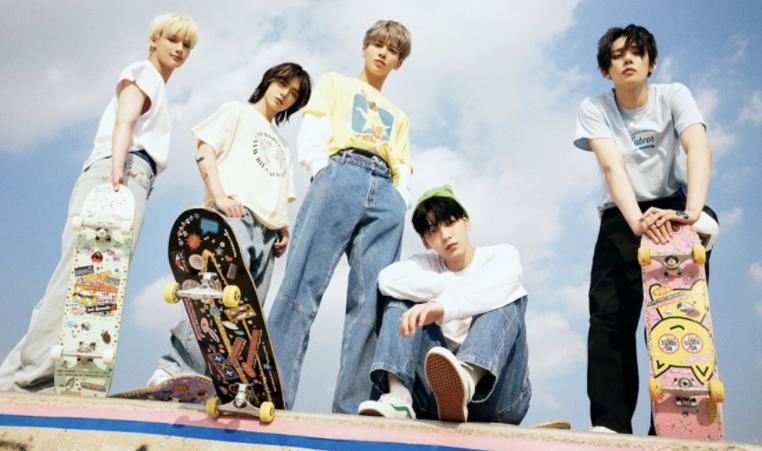 K-pop TXT boyband