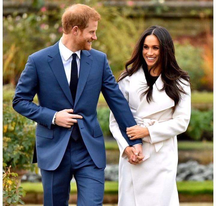 Prince Harry & Meghan Markle in Times List