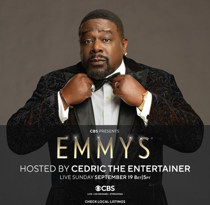 The Emmy's 2021 was hosted by Cedric The Entertainer