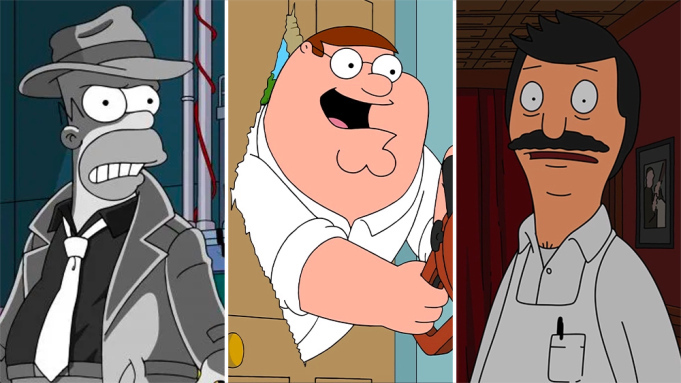 The Simpsons, Family Guy and Bob's Burgers.