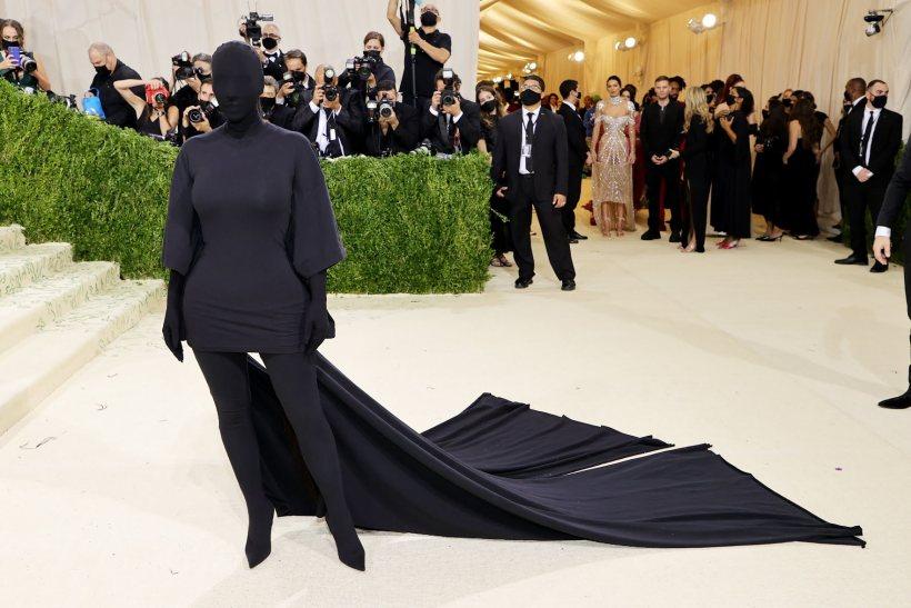 Kim Kardashian at Met Gala 2021