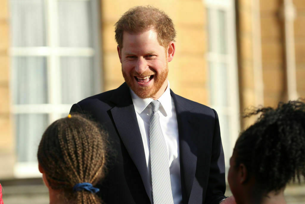 prince Harry in GQ event