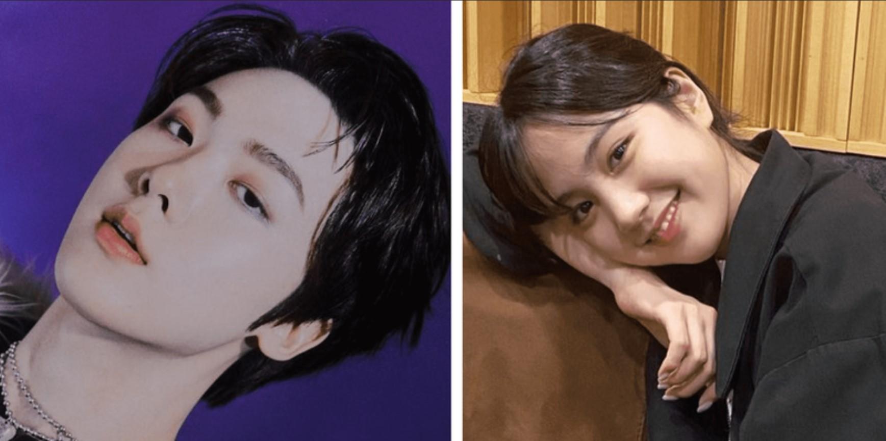 Yoon San Ha and Park Su Min
