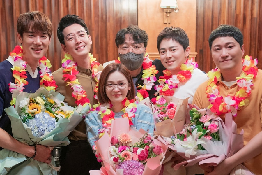 Hospital Playlist cast with director
