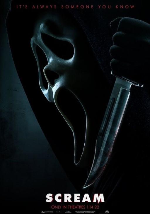 Scream new film poster