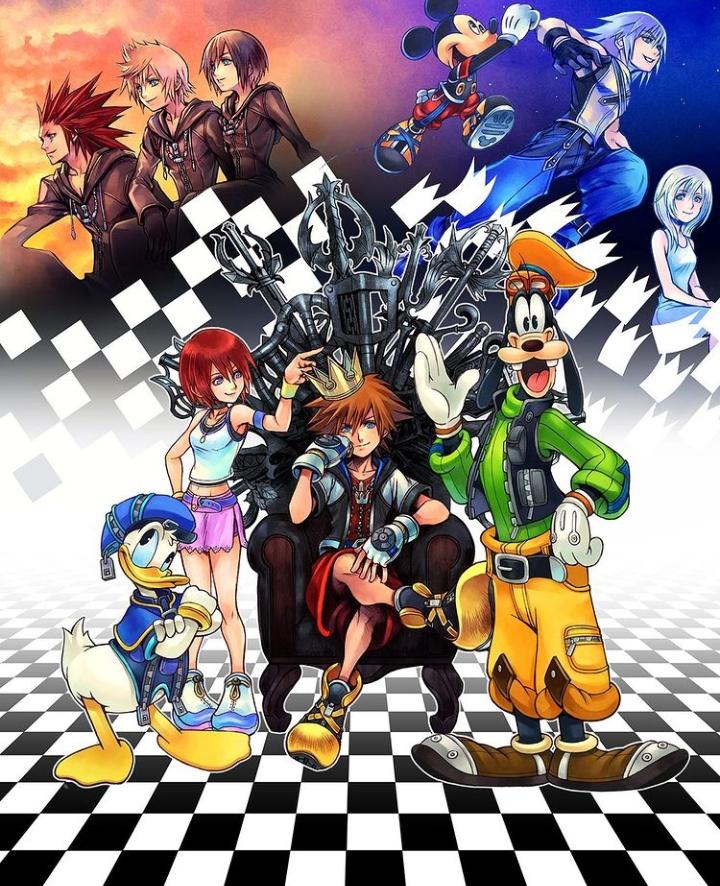 The Kingdom Hearts squad