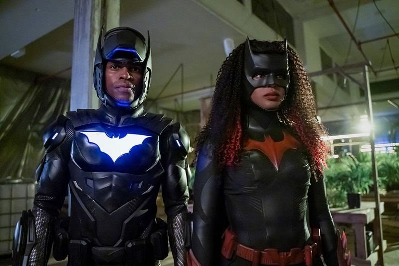 Batwoman and Batwing
