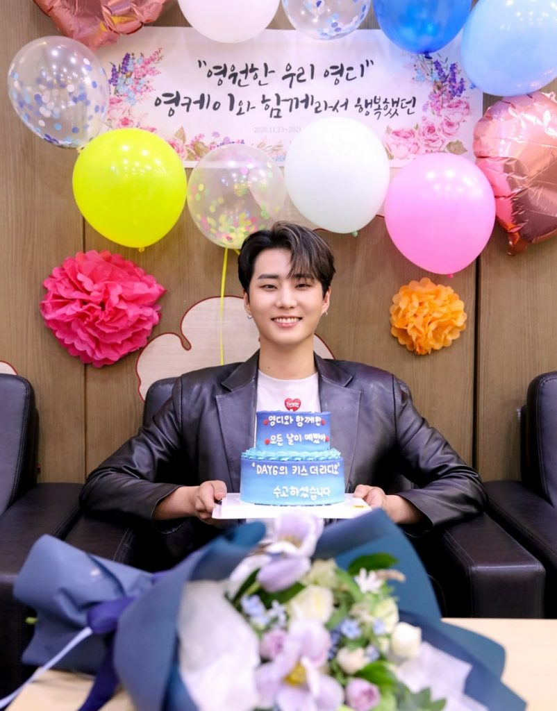 Young K gives a sweet message to fans